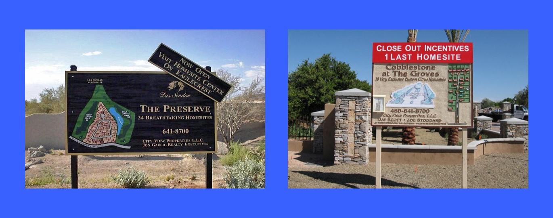 Real Estate Signs Slide 1
